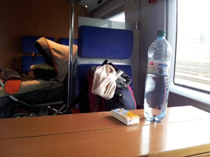 Mutter-Kind-Abteil ICE Deutsche Bahn