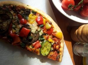 Pizza Vegetaria, Sonne und Gemüse satt